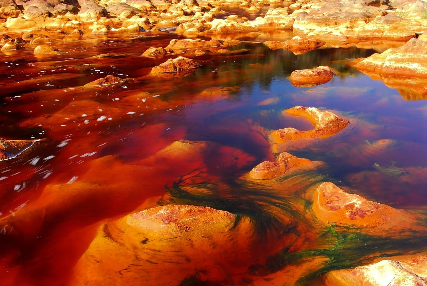 Râul Tinto, Spania