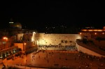 Zidul Plângerii, noaptea