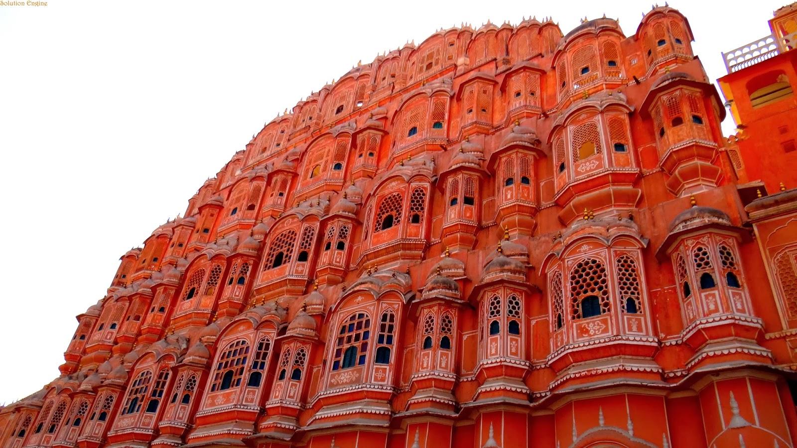 Jaipur, Oraşul Roz
