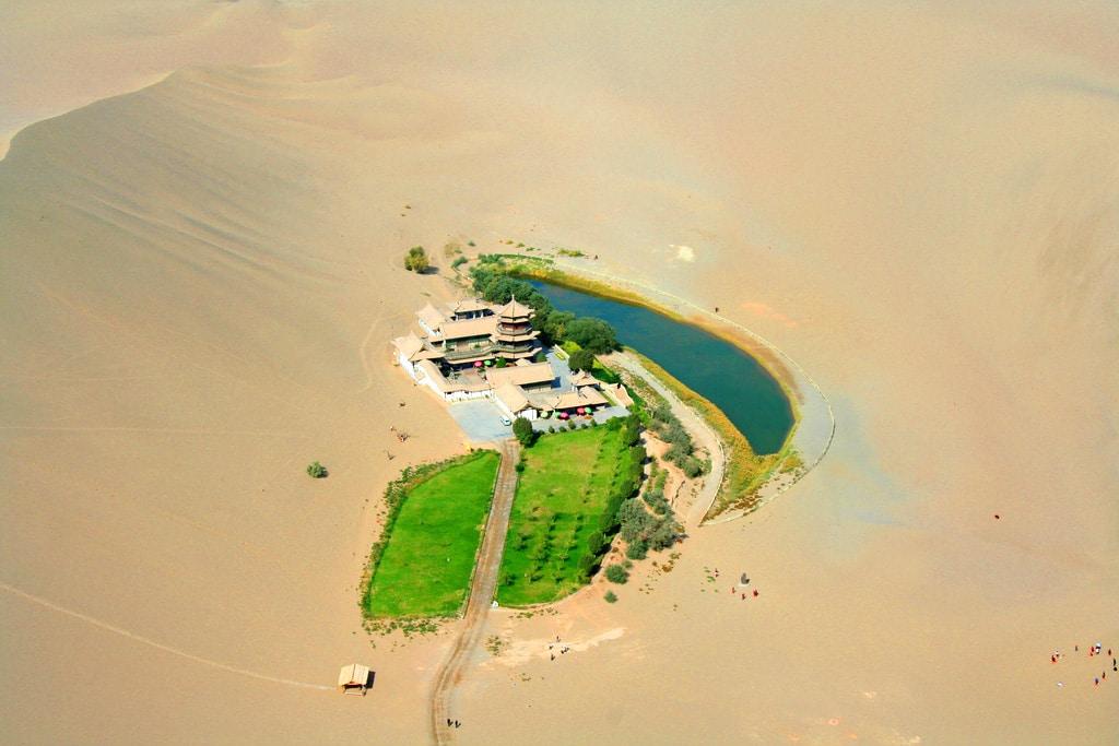 Lacul Crescent, Deşertul Gobi