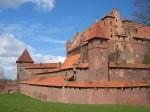 Ansamblul din cărămidă a găzduit peste 3000 de cavaleri