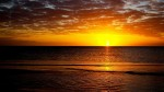 Apus de soare la Marea Adriatică