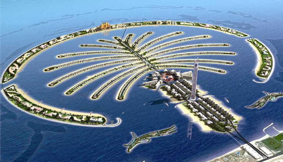 Insula Palmier, Dubai