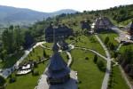 Mănăstirea Bârsana, vedere aeriană