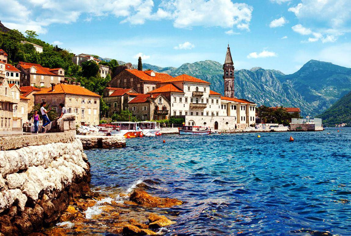 Sveti Stefan, un fost sat al pescarilor