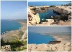 Imagini panoramice surprinse în Cape Greco