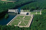 Castelul Chenonceau, vedere de ansamblu
