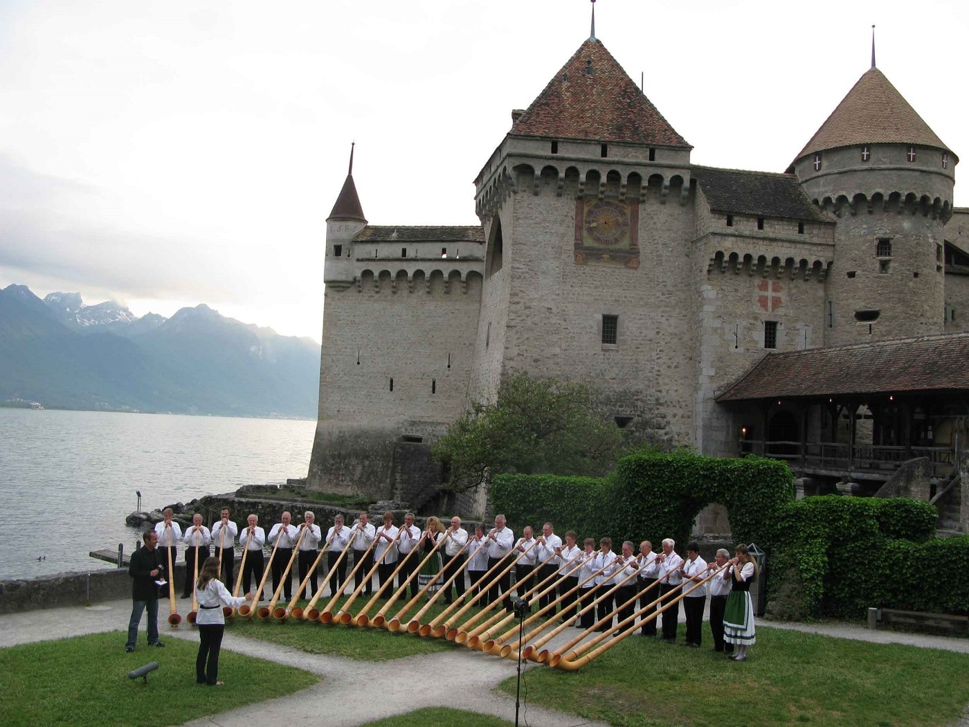 Castelul Chilon, Lacul Geneva, Elveţia