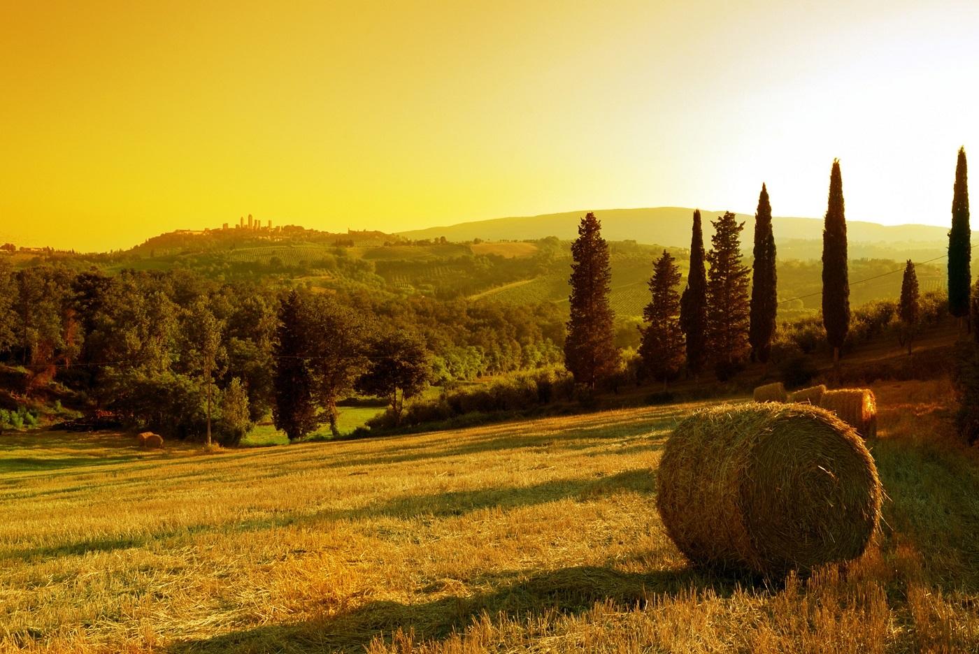 Toscana şi peisajele sale uimitoare