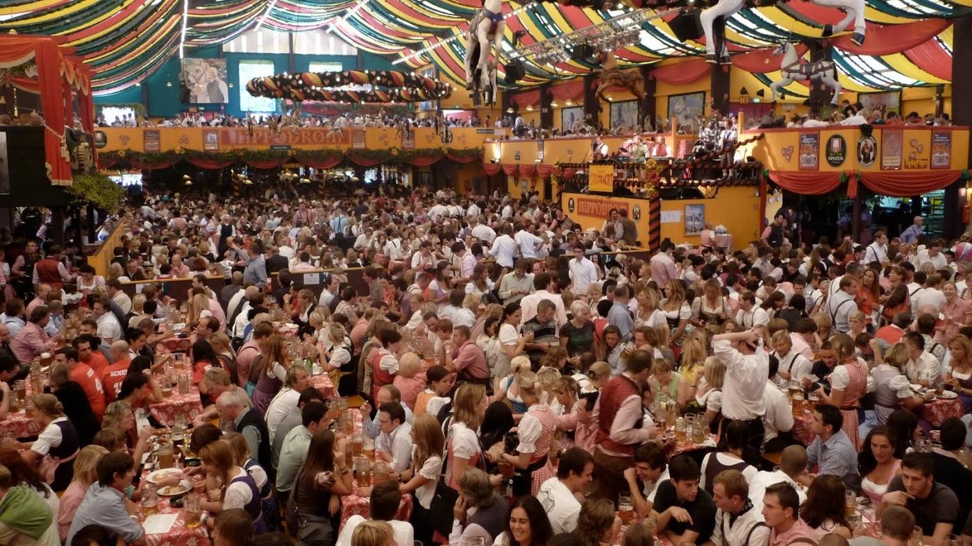 Munchen în timpul festivalului