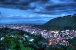 Oraşul Braşov, noaptea