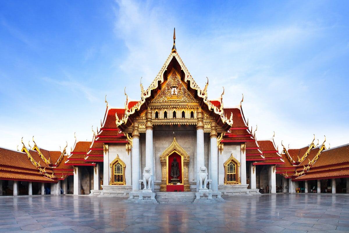 Templul Wat Benchamabophit, Thailanda