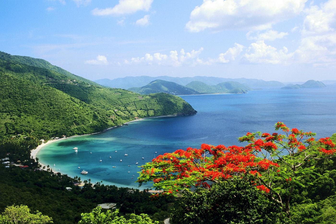 Insula Peter, Insulele Virgine Brtianice