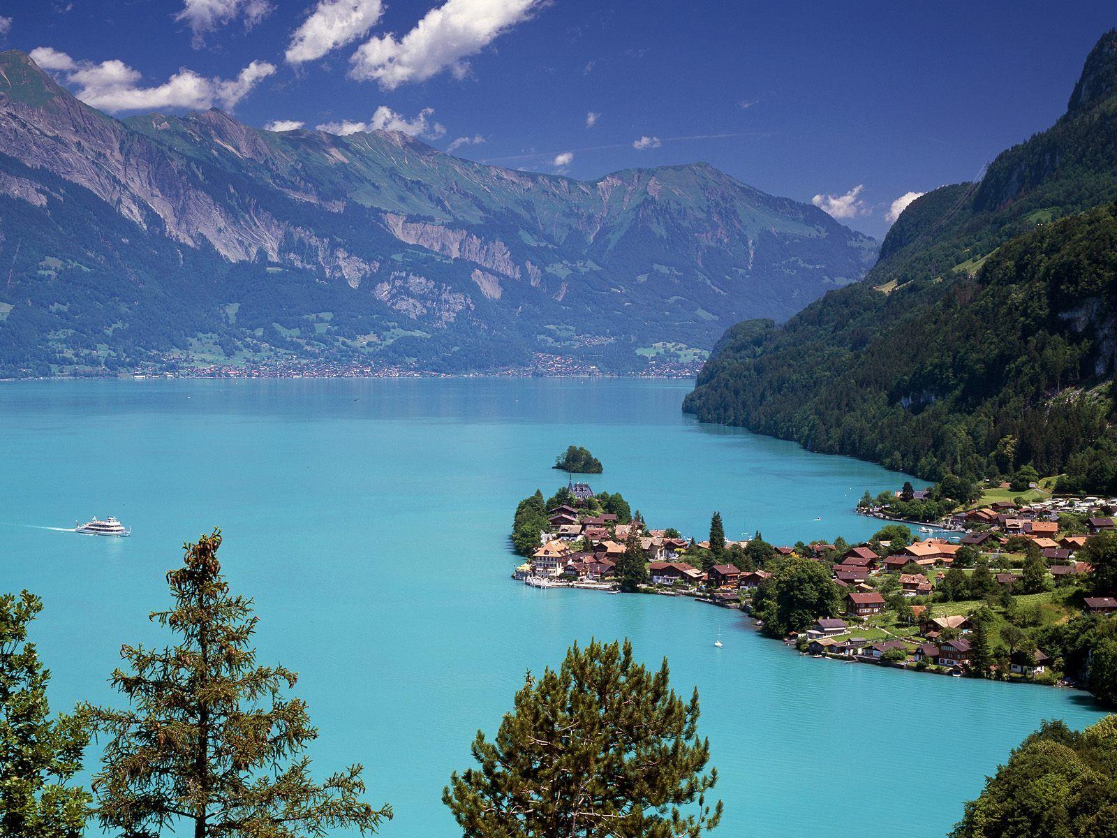 Lacul Brienz, Elveția