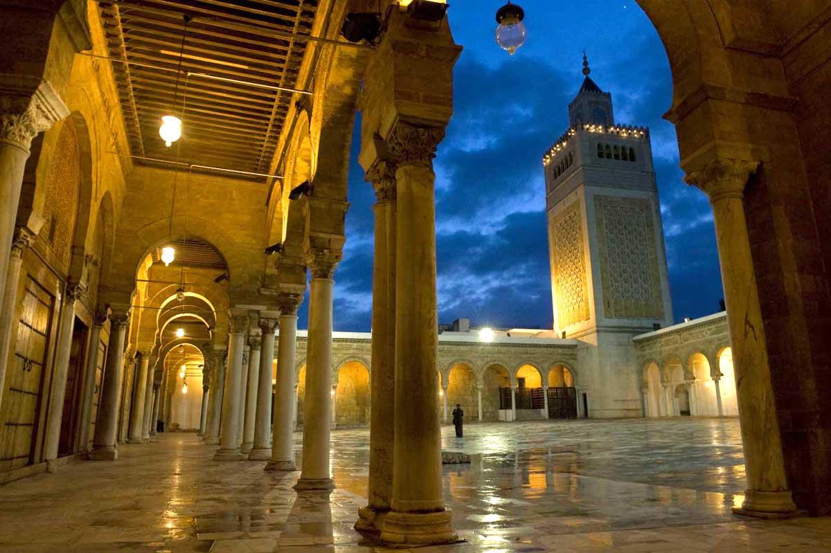 Moscheea Zitouna, Tunis