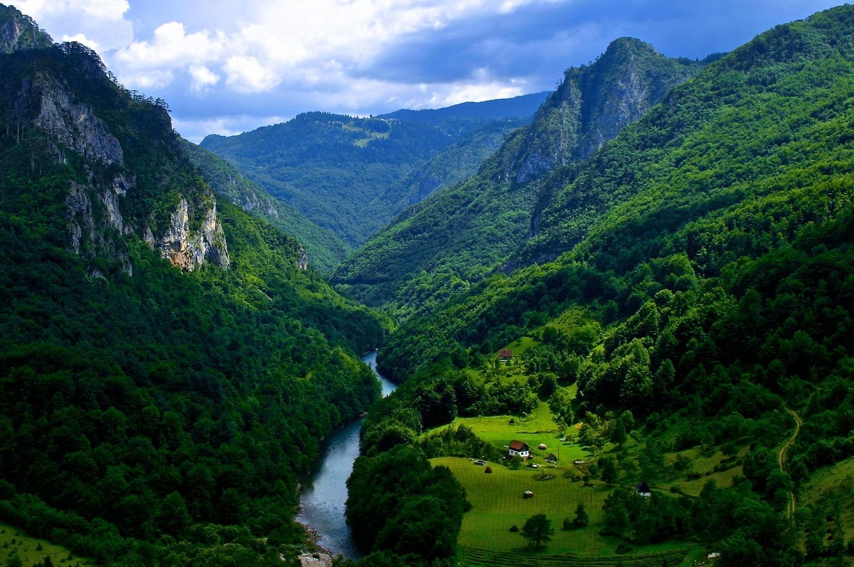 Canionul Tara, Muntenegru